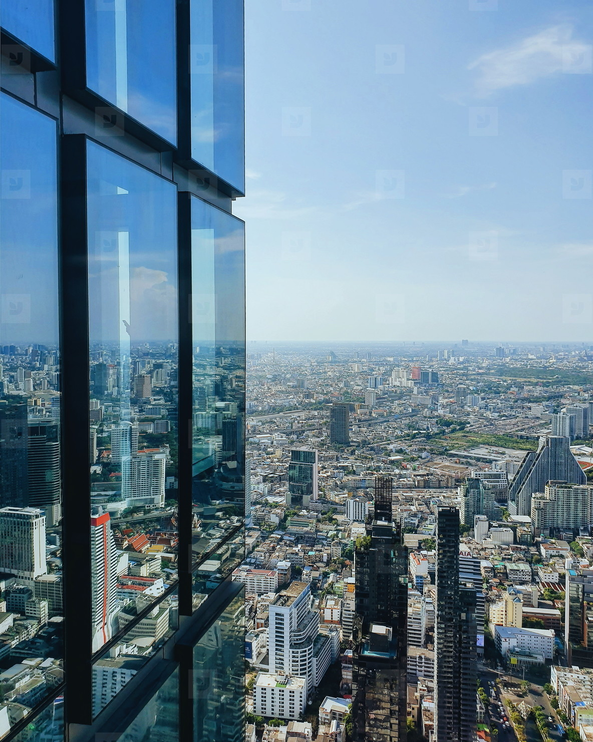 View of Bangkok City 01
