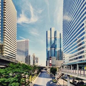 View of Bangkok City 02