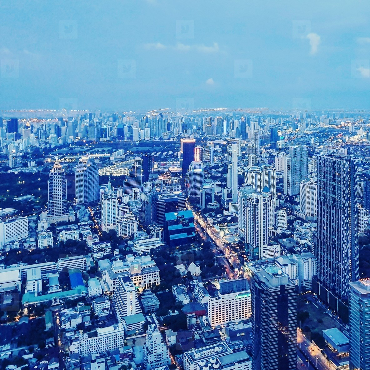 View of Bangkok City 09