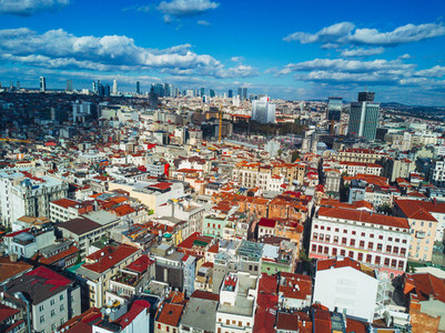 Cityscape Istanbul  Turkey