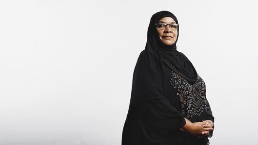 Islamic woman in hijab