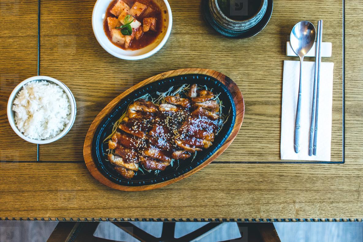 Korean crispy duck