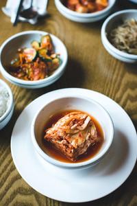 Korean fermented Kimchi