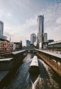 Pratuman pier in Bangkok