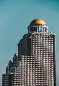 Golden dome on Lebua state tower