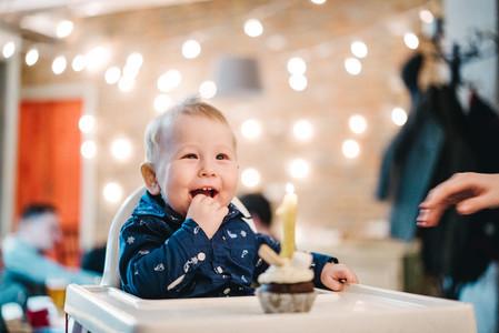 First birthday of a little boy