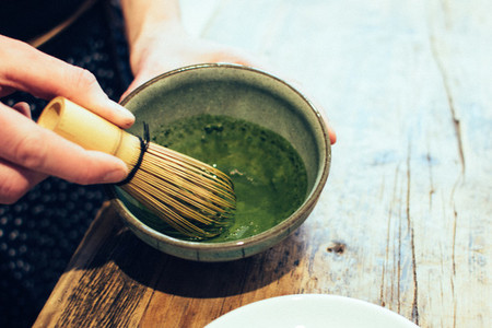 Japanese Matcha green tea