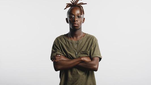 African man with dreadlocks