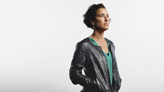 Portrait of woman in jacket