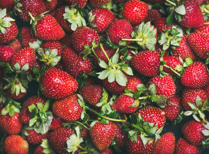 Fresh strawberry texture wallpaper and background