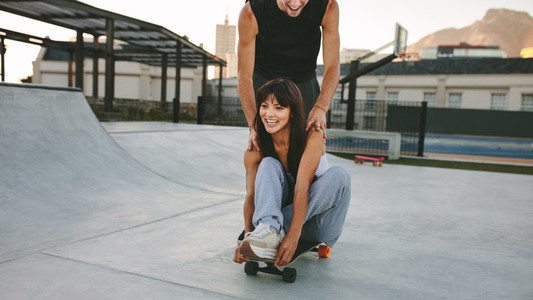 Skate park fun