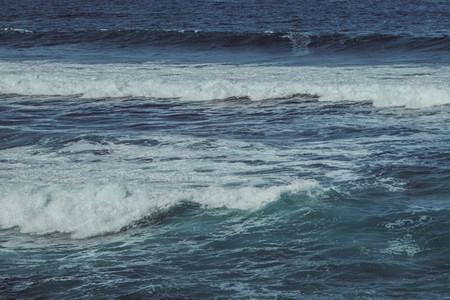 Blues of the sea