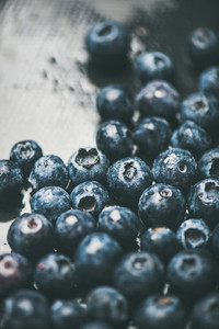 Fresh forest blueberry texture  wallpaper and background
