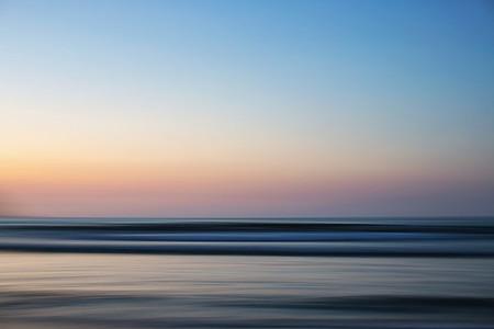 Idyllic ocean view at sunset 01