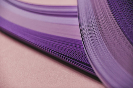 Abstract purple paper wave pattern 01