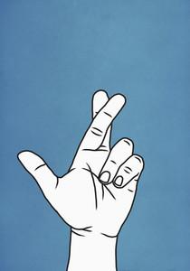Fingers crossed 01