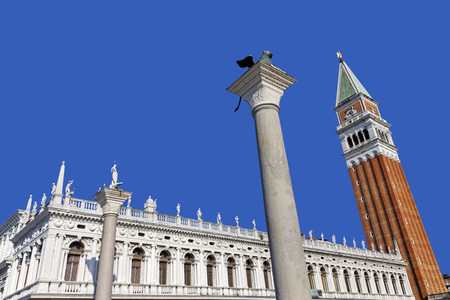 Campanile and Lion of Venice