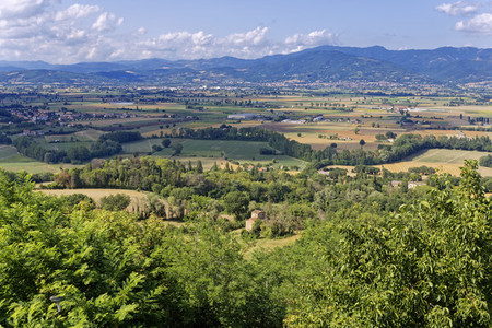 Landscape view from Umbrian
