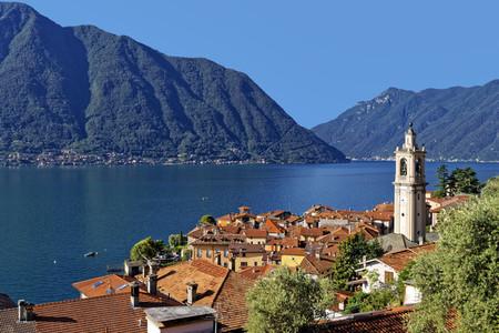 Sala Comacina bell tower  Italy
