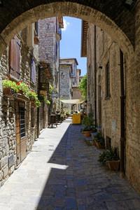 Street of OId Town of Gubbio