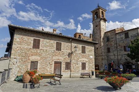 Citerna Town in Umbria Italy
