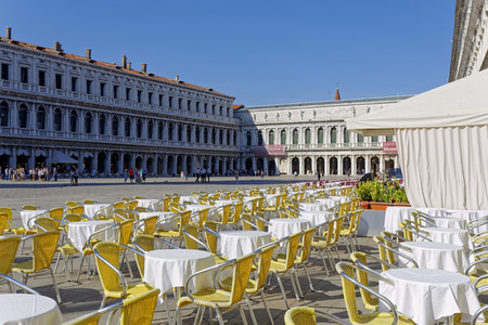 Street Cafe at St Mark Square