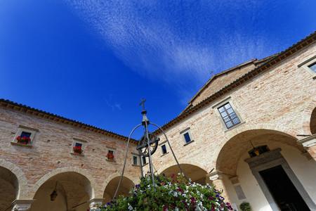 The Basilica Santa Chiara
