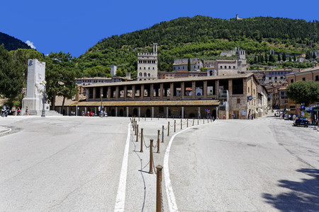 Entrance to Old Town of Gubbio