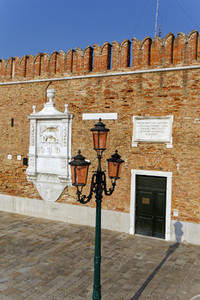 Venetian Arsenal Venice Italy