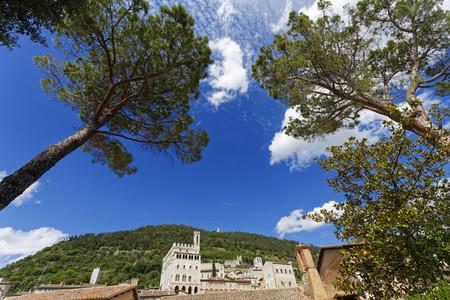 View of Gubbio Italy