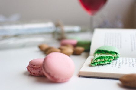 free food pictures   Macrons
