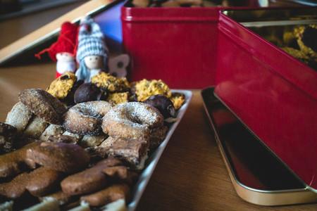 Traditional Christmas baked