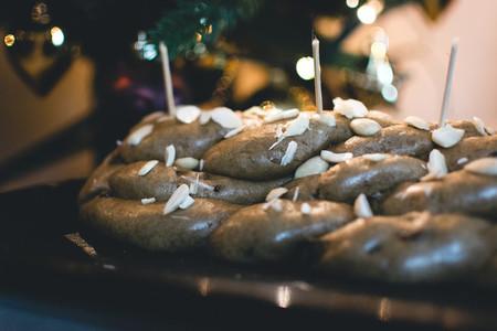 Czech Christmas cake vanocka