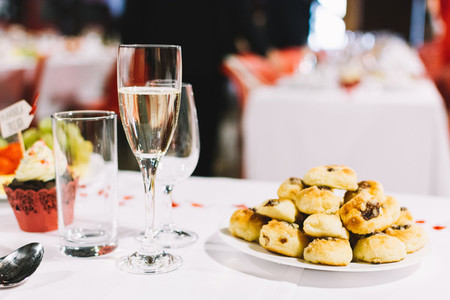 Czech pastry on a wedding