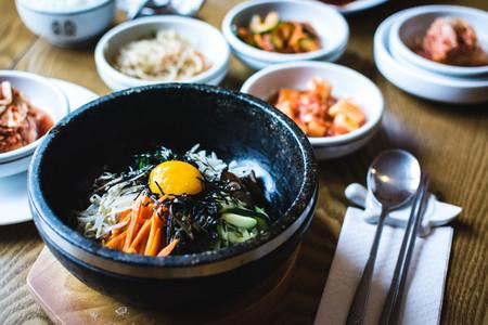 Korean Bibimbap vegetables
