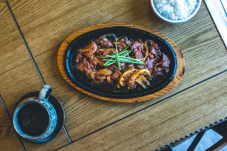Korean Bulgogi barbecue