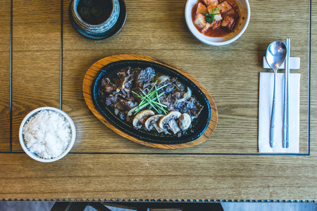 Korean Bulgogi barbecue