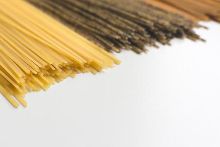 Whole grain pasta spaghetti