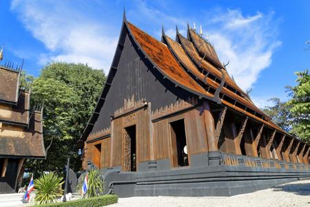 Baan Dam  Black House 01