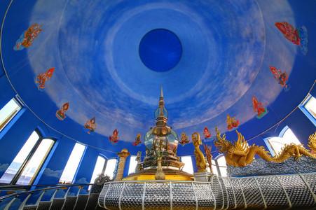Chedi Kaew Interior  Wat Thaton