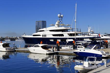 FELIX Super Yacht moored