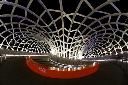 Inside Webb Bridge  Melburne