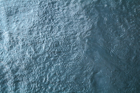 Aerial bird view of a blue sea  Water background