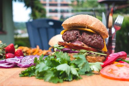 Summer garden barbecue