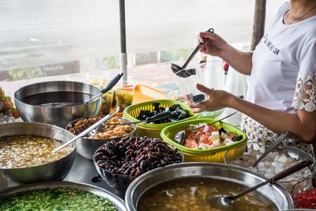 Vietnamese sweet dessert
