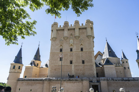 Alcazar of Segovia  Famous Spanish castle World Heritage of Unes