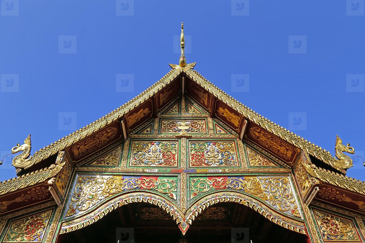 Chiang Rai  Temple Detail