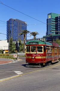 Melbournes city tram