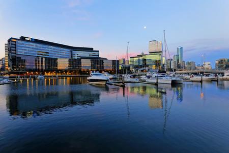 Dush Sunset at Docklands