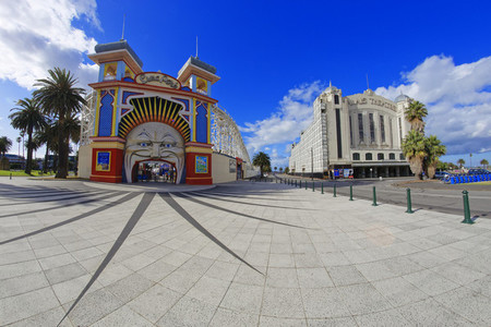 Luna Park and Palais Theatre